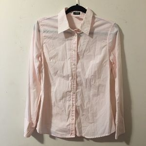 J.Crew Striped Button Down Top | M
